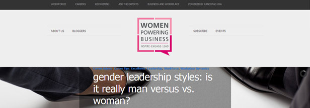 Gender Diversity Blogs - Women Powering Business